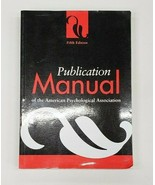 Publication Manual of the American Psychological Association, 5th Edition - $5.00