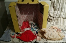 SKIPPER Carry CASE 1964 yellow original red clothes dresses accessories ... - $29.99