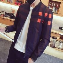 2018 Fashion New Plaid Men Jacket Casual Digital Printed Baseball Jersey... - $47.94