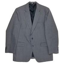 Botany 500 Blazer/Vest size-40R Mens Orange Grat Striped Jacket Made USA - $33.44