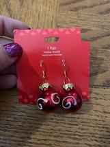 Vintage Christmas Ornament Earrings - $18.50