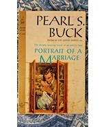 PEARL S BUCK/PORTRAIT OF A MARRIAGE VINTAGE CARDINAL PAPERBACK/1961 1ST ED - $4.00
