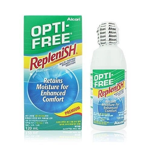 Alcon Opti-Free Replenish Tearglyde Conditioning 120ml / 240ml Exp. 2018.2