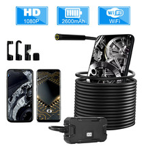 5.5mm Lens WIFI Endoscope Camera with Battery Screen Display HD1080P Wat... - $49.50