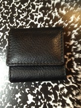 TIFFANY & CO. Leather Golf Tee WALLET - FREE SHIPPING image 1
