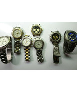 Fossil Guess Kobec Oscar Titanium quartz triple dial watches for repair ... - $173.19