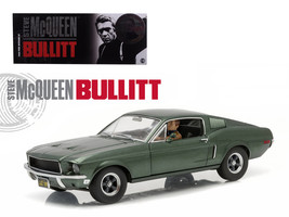 "1968 Ford Mustang GT Fastback ""Bullitt\"" Highland Green with Steve Mcqu... - $88.42"