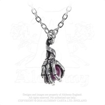 Clutching Life Pendant by Alchemy Gothic - $19.75