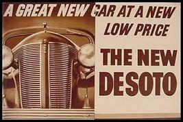 1937 DeSoto ORIGINAL Brochure 24 pgs, full line  - $18.81