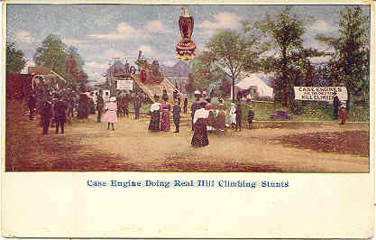 Case Engine Hill Climbing  Post Card
