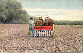 The Farquhar Seed Drill Company York Pennsylvania Post Card - $10.00