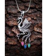 Elusive Arcus Iridis Rainbow Phoenix Amulet Vast Wealth Greek Magick Hau... - $69.99