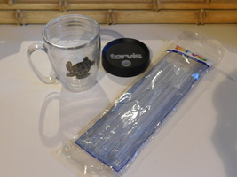 Tervis Tumbler Sea Turtle 15oz Mug with lid and package of adjustable st... - $25.99