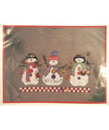 Dimensions LET IT SNOW Waste Canvas Design Counted Cross-Stitch Kit - NIP! - $8.00