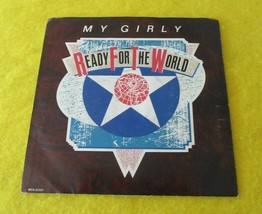 "Ready for the World 45 RPM Vinyl Record 7"" My Girly - $4.95"