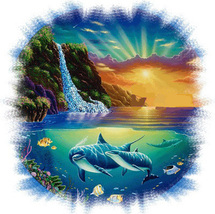 Dolphin Cove Cross Stitch Pattern***L@@K*** - $4.95