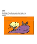 Halloween Garland6-Download-ClipArt-ArtClip-Garland Digital-Digital - $4.00
