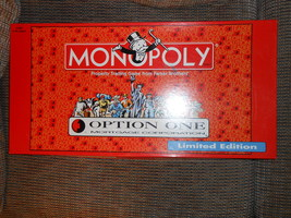 Monopoly Limited Edition Option One Mortgage Corporation - $10.00