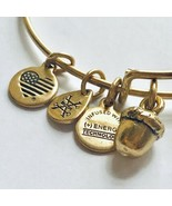 Alex and Ani Unexpected Blessings Bangle Bracelet Rafaelian Gold - $16.37