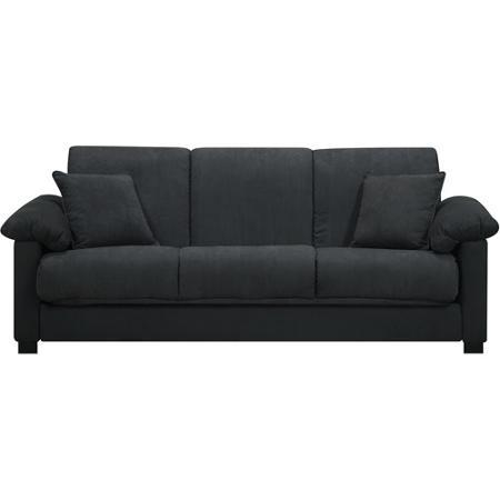 Convertible Futon Sofa Bed for Small Space Living Room