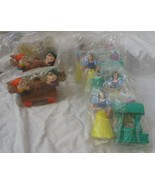 MCDONALD'S Happy Meal Toys  SNOW WHITE And Dwarfs Lot of 6 - $7.91