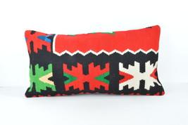 HANDWOVEN lumbar pillow case hippie throw pillowr cover colorful  pillow... - $18.00