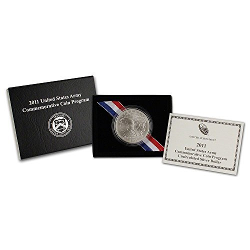 2011 United States Army Commemorative Silver Uncirculated Coin