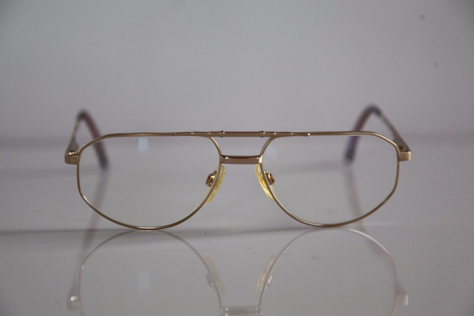 TREND COMPANY Eyewear, Gold Frame, Clear Lenses Prescription.