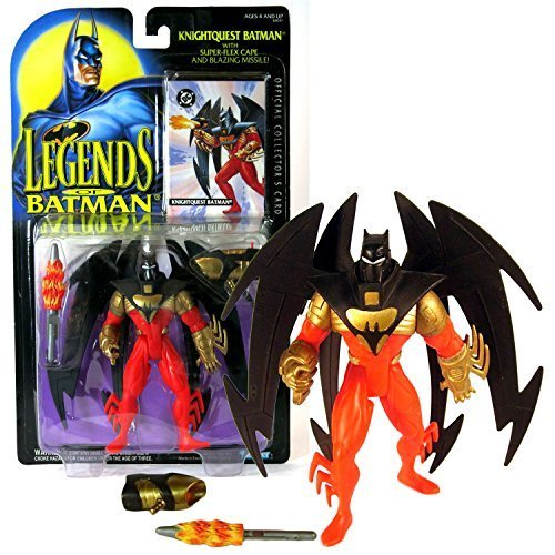 Kenner Year 1994 Legends of Batman Series 5 Inch Tall Action Figure - KNIGHTQUES - $42.99