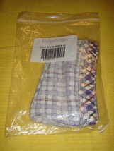 Longaberger Small Catch All Blueberry Plaid Liner - $14.99