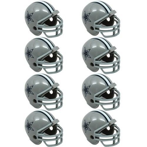 DALLAS COWBOYS 8 PARTY PACK NFL FOOTBALL HELMETS RIDDELL
