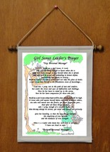 Girl Scout Leader's Prayer - Personalized Wall Hanging (488-1) - $18.99
