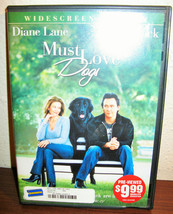Must Love Dogs DVD Like-New! #R39 - $8.99