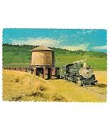 Cumbres and Toltec Steam Locomotive RR Train Water Tank 4X6 Postcard - $4.99