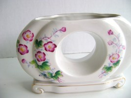 Lipper & Mann Double Ceramic Bud Vase - $12.00