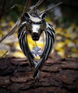 Merlin's Avalon DIREWOLF Amulet Protection Success Luck Spellcast Haunted Amulet - $79.99