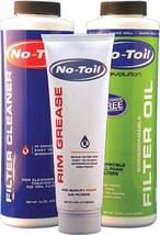 No Toil Evolution Air Filter Oil Cleaner Rim Grease Cr Crf Kx Ktm Rm Rmz Yz Wr - $19.95
