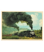 RR Cumbres and Toltec Double Steam Engines 483 484 Train Vintage 4x6 Pos... - $4.99