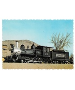 Rio Grande Southern Steam Locomotive Train Colorado RR Museum Postcard - $4.99