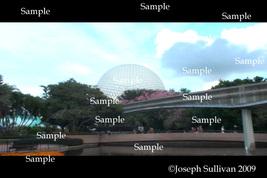 Disney's Epcot Freebie Computer Wallpaper Digital Download - $0.00