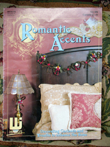 ROMANTIC ACCENTS FLORAL DESIGN CRAFT BOOK #278 - $3.00
