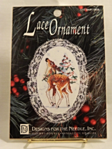 Designs For The Needle BABY DEER Lace Ornament - Brand New In Package! - $11.50