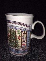 1 Dunoon Ceramic Mug Cup RED white black Coffee tea Hot chocolate Made, ... - $13.00