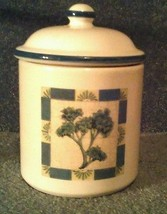 White blue canister jar freezer microwave refri... - $24.00