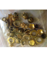 Jewelry Making Destash Lot of 44 grams Ant Gold... - $7.50