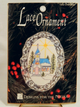 Designs For The Needle CHURCH Lace Ornament Kit - New In Package! - $6.50