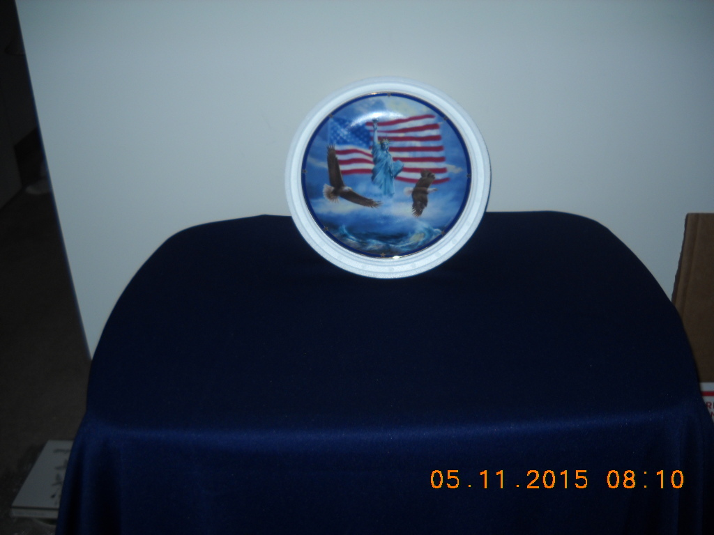 Primary image for THE DANBURY MINT LIMITED-EDITION AMERICA STAND PROUD COLLECTORS PLATE