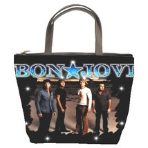 Bon Jovi Custom Bucket Bag (2  Side) - $27.00