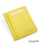 Lancaster Made In Italy Genuine Leather Credit ... - $47.99