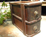 Wooden antique sewing machine drawers 2088 1 thumb155 crop